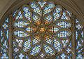 Rose Window of Sainte-Chapelle de Vincennes, Interior View 140308 1.jpg