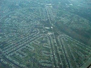 Rotonda West, Florida - The residential development project that contains most of the town.