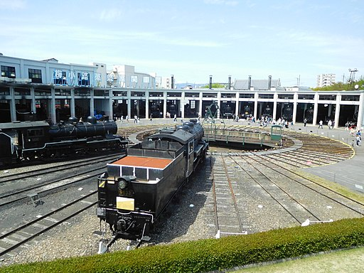 Roundhouse of the Kyoto Railway Museum 18
