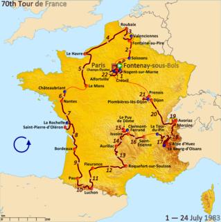 1983 Tour de France cycling race