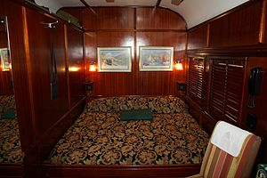 Rovos Rail - Image: Rovos Rail Deluxe Suite