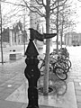 Rowe type milepost in Cardiff Bay - geograph.org.uk - 622726.jpg