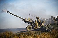 Royal Artillery Firing 105mm Light Guns MOD 45155621.jpg