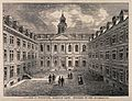 Royal College of Physicians, Warwick Lane, London; the court Wellcome V0013102.jpg