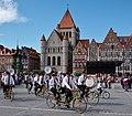 Royal Guidon Hesbignon pendant la grande procession de Tournai (DSCF8935).jpg