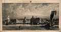 Royal Naval Hospital, Greenwich, from the Isle of Dogs, with Wellcome V0013310.jpg