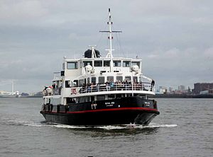 Merseytravel - ''Royal Iris of the Mersey'' in November 2009