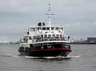 Merseytravel - Royal Iris of the Mersey in November 2009