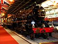 Royal steam locomotive in National Railway Museum.jpg