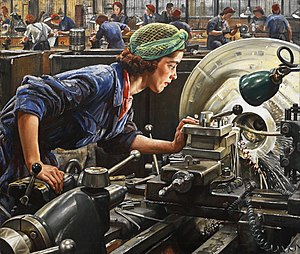Ruby Loftus screwing a Breech-ring (1943) (Art. IWM LD 2850).jpg