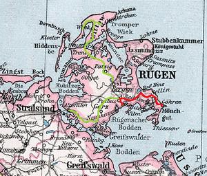 rugen karta Rügensche Kleinbahn – Wikipedia rugen karta