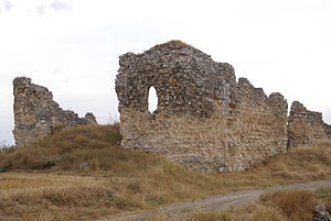 Campaspero - Ruins of Santa María de Oreja convent, built between the 11th and 12th centuries.