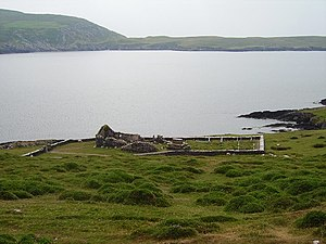 Dursey Island - Image: Ruined church, Dursey Island. geograph.org.uk 282370