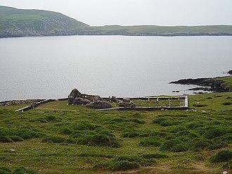 Dursey Island - Image: Ruined church, Dursey Island. geograph.org.uk 282370