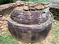 Ruined stone stupa at Gurubhaktulakonda monastery 01.jpg