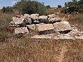 Ruins of ancient tower - south of Beit Dhikrin.jpg