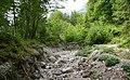 Rupa Bachbett, Schuttrinne am Dobratsch, Villacher Alpe, Kärnten.jpg