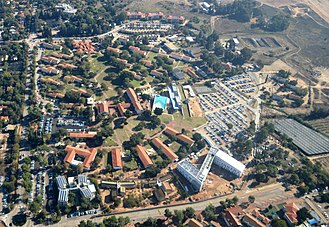Ruppin Academic Center - Image: Rupin College Aerial View