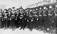 Russian fascists at Harbin, 1934