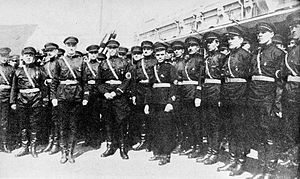 Russian fascists at Harbin 1934