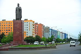 The Shota Rustaveli Monument