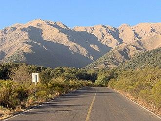 San Luis Province - Image: Ruta en Merlo