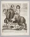 Ryttarporträtt med Ludvig XIV (1638-1715) och Maria Teresa drottning (1638-83), 1660 - Skoklosters slott - 99595.tif