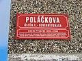 Sídliště Dobětice, Poláčkova, uliční tabule.jpg