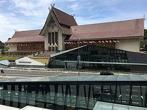 Muzium Negara MRT station - Muzium Negara MRT Station entrances in front of the Muzium Negara (National Museum)