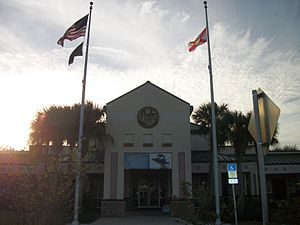 Yulee, Florida - The Florida Welcome Center in Yulee, off Interstate 95.