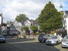 The market square in Graefrath