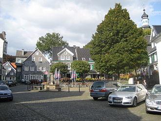 Gräfrath - Historical market place in the borough of Gräfrath