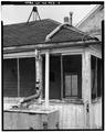 SOUTHEAST CORNER GUTTER DETAIL - Kandt-Domann Farmstead, Wash House, State Route 3, Hope, Dickinson County, KS HABS KANS,21-HOPE.V,1-D-5.tif