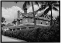 SOUTHEAST CORNER VIEW - The Breakers Hotel, Cottage, South County Road, Palm Beach, Palm Beach County, FL HABS FLA,50-PALM,9A-3.tif