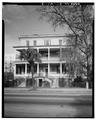 SOUTH (FRONT) ELEVATION - Jonathan Lucas House, 286 Calhoun Street, Charleston, Charleston County, SC HABS SC,10-CHAR,93-3.tif