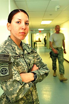 SPC Monica Brown at FOB Salerno, Afghanistan 2008.jpg