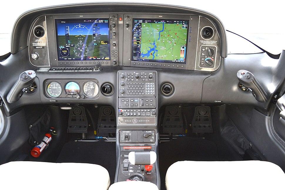 SR22TN Perspective Cockpit