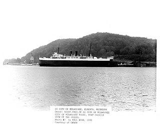 SS <i>City of Milwaukee</i> Great Lakes railroad car ferry