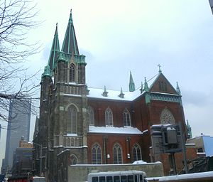 Church of Sts. Cyril & Methodius and St. Raphael (New York City) - West side of the church, 2011