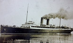 SS Victoria in operational service.