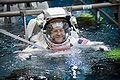 STS-130 Training Neutral Buoyancy Laboratory Patrick 2.jpg