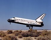 STS-92 landing