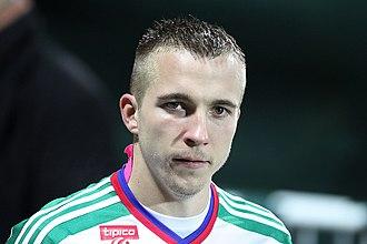 Christopher Dibon - Image: SV Mattersburg vs. SK Rapid Wien 2015 11 21 (061)