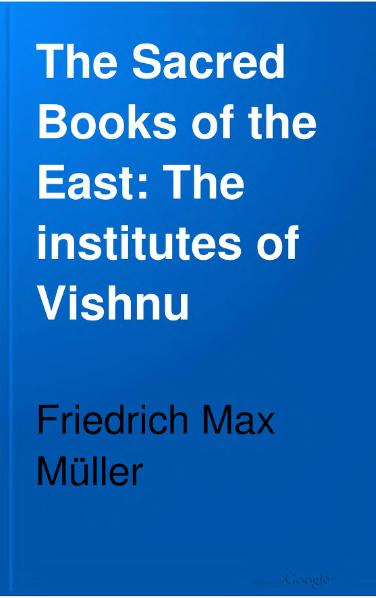 File:Sacred Books of the East - Volume 7.djvu