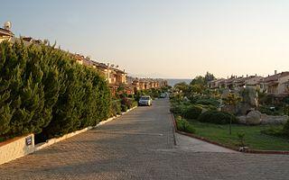 Özdere Town in Menderes District in Aegean, Turkey