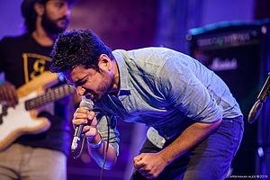 Saif Samejo - April 19th, 2015 - Saif Samejo, performing with his band The Sketches at Music Mela, Islamabad.