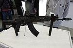Saiga-AK15 assault rifle at Military-technical forum ARMY-2016 01.jpg
