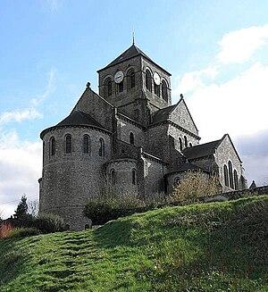 Saint-Aubin-du-Cormier - The church of Saint-Aubin, in Saint-Aubin-du-Cormier