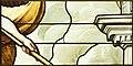Saint-Chapelle de Vincennes - Baie 1 - Nuée et bras d'un ange (bgw17 0766).jpg