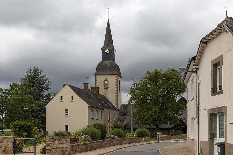 Church of Saint-Pierre-la-Cour.